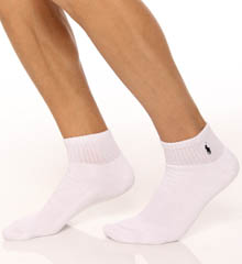 Classic Cotton Cushioned Quarter Top Sock 3 Pack