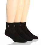 Tech Athletic Quarter Top Socks - 3 Pack
