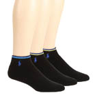 Polo Ralph Lauren 3 Pack Cotton Fully Cushioned Ped Socks 827011PK