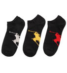 Polo Ralph Lauren Big Polo Player No Show Sock 3 Pack 827025