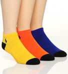 Tech Ghost Liner with Heel Shield Socks - 3 Pack