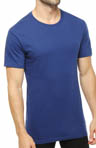 Slim Fit Cotton Crewneck T-Shirts - 3 Pack