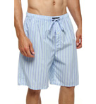 Woven Cotton Sleep Shorts