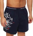 Wraparound Print Woven Boxers