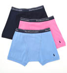 Classic Fit 100% Cotton Boxer Briefs - 3 Pack