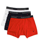Polo Ralph Lauren Polo Print Boxer Briefs - 3 Pack RS71B