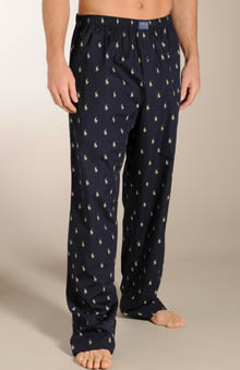 Polo Player Print Pant - Tall