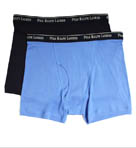 Big and Tall Boxer Briefs 2 Inch Inseam- 2 Pack