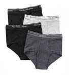 4 Pack Mid Rise Brief
