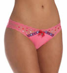 Pretty Polly Lingerie Embroidered Tanga Panty PP163