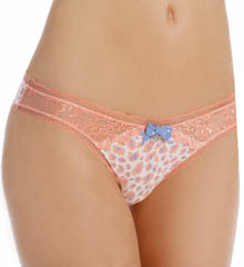 Pretty Polly Lingerie Printed Lace Tanga Panty PP262