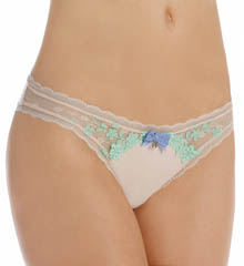 Pretty Polly Lingerie Embroidered Tanga Panty PP263