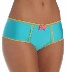 Pretty Polly Lingerie Solid with Lace Shorty Panty PP343