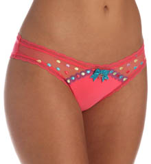 Pretty Polly Lingerie Embroidered Tanga Panty PP365