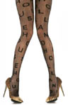 Pretty Polly House of Holland Alphabet Tights HHAPT9