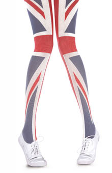 House of Holland Rule Britannia Tights