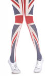 Pretty Polly House of Holland Rule Britannia Tights HHAQP8