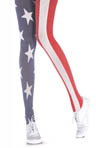 Pretty Polly House of Holland Stars and Stripes Tights HHAQP9