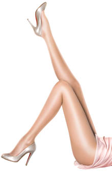 10 Denier Sheer Gloss Tights