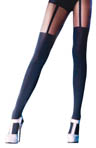 Mock Suspender Tights