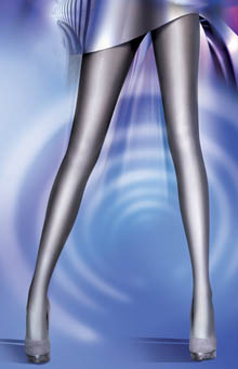 Printed Highlight Ombre Tights