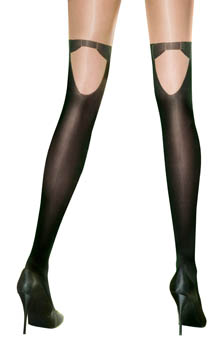Pretty Formal Mock Hold Up Tights