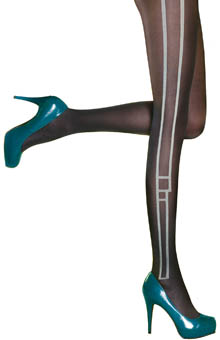 Pretty Retro Side Panel Tights