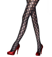 Pretty Polly Premium Fashion Retro Diamond Tights PNARW2