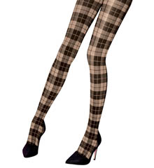 Pretty Polly Premium Fashion Tartan Tights PNASP6