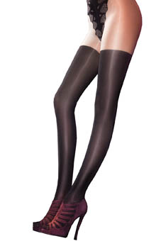 Pretty Polly Mock Over The Knee Pretty Super Tights