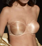 Satin Strapless Bra