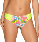 Pool Party Side Shirred Brief Swim Bottom