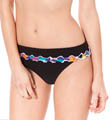 Pixel Tri Color High Waist Swim Bottom Image