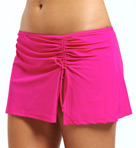 Basic Solid Skirted Brief Swim Bottom Image