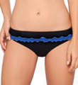 Tri-Colore Belted Swim Bottom Image
