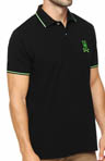 Neon Bunny Slim Fit Polo Shirt