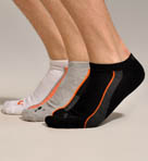 1/2 Terry Color Low Cut No Show Sock 3 Pack