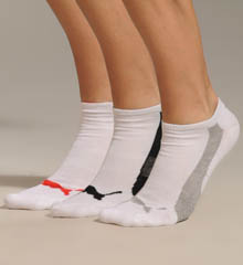 1/2 Terry Low Cut No Show Sock 3 Pack