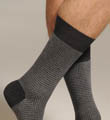 Two Color Houndstooth Sock Image