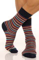Punto Multi Stripe Sock 302274