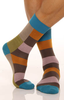Punto Colorblocked Sock