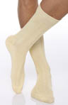 Punto Egyptian Soft Cotton Ribbed Anklet 303004