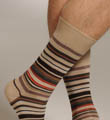 Multi-Color Stripe Sock Image
