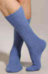 Punto Cashmere Blend Ribbed Anklet 318107
