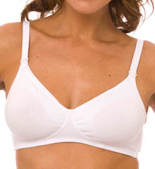 Molded Cotton Blend Nursing Bra