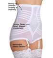 High Waist Brief Girdle w/ Zipper Image