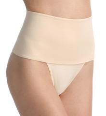 Shaping thong, support thong, shaping thong, hi waist thong, high waist thong, Hi waist shaping thong, thong bottom panty, control thong panty,control underwear, body shaper