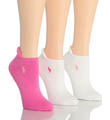 RL Sport Heel Tab Cushion Sole Sock - 3 Pair Pack Image