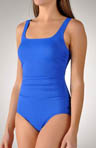 Must Have Classic Side Shirred 1 Piece Swimsuit
