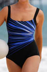 Streak Of Light Tank 1 Piece Swimsuit